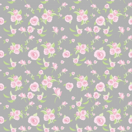 Rose seamless pattern Stock Vector - 18654588