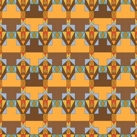 cubic: Cubic color seamless pattern