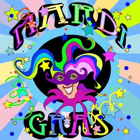 mardi gras: Mardi Gras Illustration