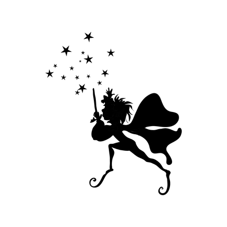 elf: Elf silhouette decal