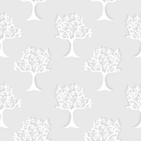 Paper  Forest Seamless PAttern