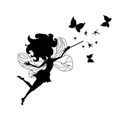 fairy silhouette: Tooth Fairy