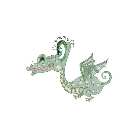 Baby Dragon Vector