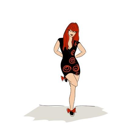 illustrazione moda: Fashion Illustration