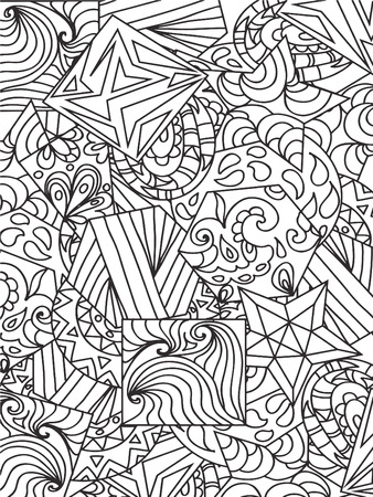 Abstact zentangle Illustration