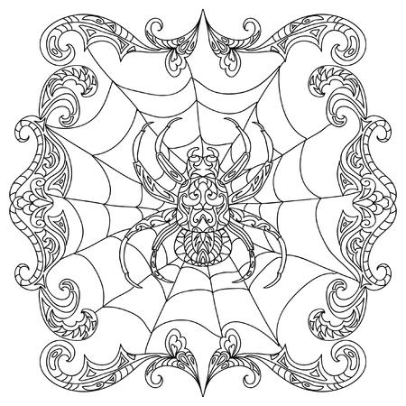Ausgezeichnet Spinnen Malvorlagen Bilder - Beispiel Wiederaufnahme ...