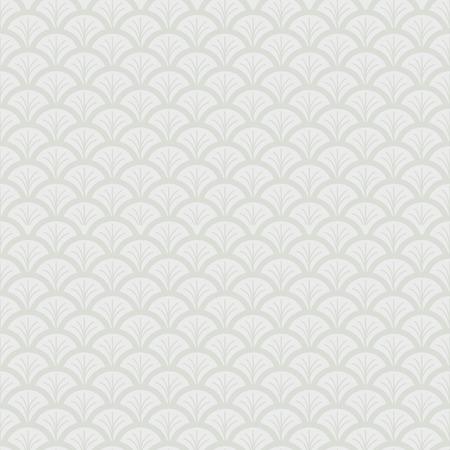 fish scale: Monochrome fish scale seamless pattern Stock Photo