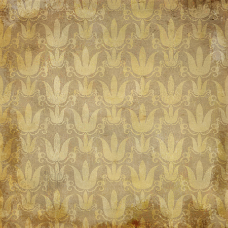 mandala: Grunge Mandala golden vintage pattern