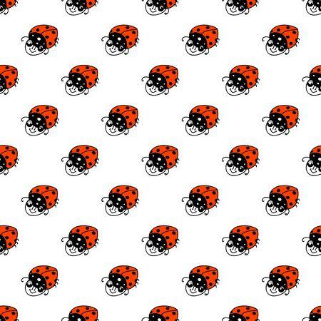 ladybug: Ladybug colorful Seamless PAttern
