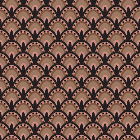 the tail: Peacock tail  Seamless Pattern