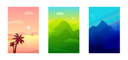 The landscape of national park gradient