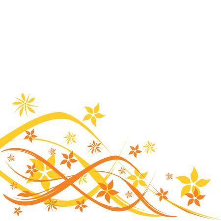 floral background, vector illustration Vector