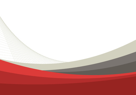 red line: business background, vector illustration