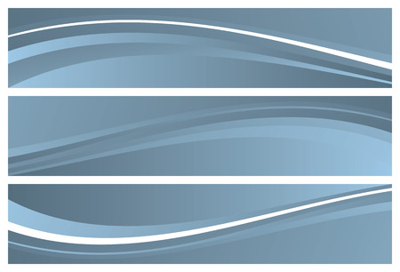 abstract banners (headers), vector illustration Vector
