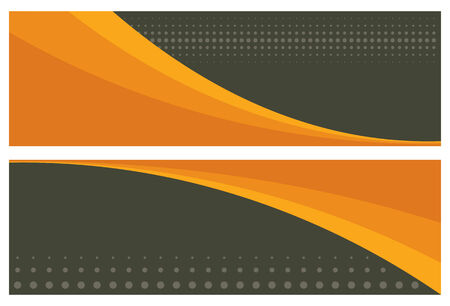 vector banners or headers: abstract banners (headers), vector illustration