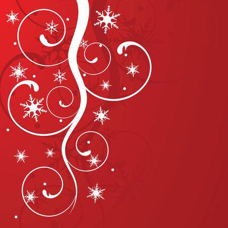 christmas background, vector illustration Stock Vector - 3792495