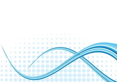 vector lines: elegant business background, vector illustration Illustration