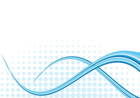 lineas onduladas: elegantes negocios, ilustraci�n vectorial