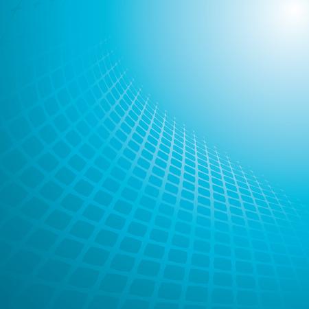 grid: astratta blu sfondo, illustrazione vettoriale