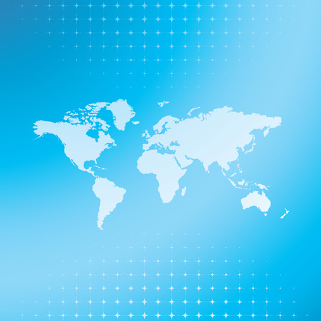 world map background, vector illustration Illustration