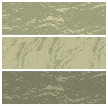 pastel tone: grunge banners, vector illustration