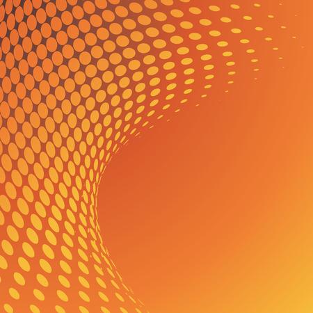 demi-fond, illustration vectorielle