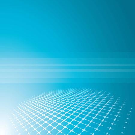 grid background: blue grid background, vector illustration