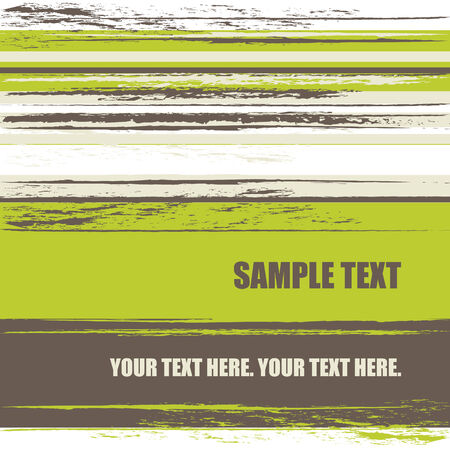 grunge stripes background with copy space, vector illustration Stock Vector - 5109870
