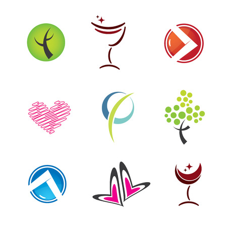 set of icons, vector illustration Vector