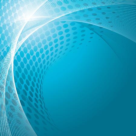 blue business background, vector illustration