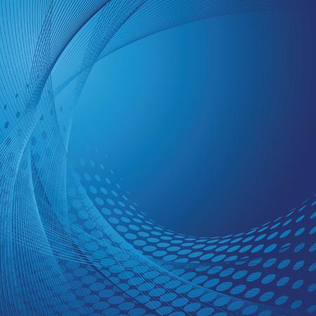 blue business background, vector illustration Stock Vector - 5795926