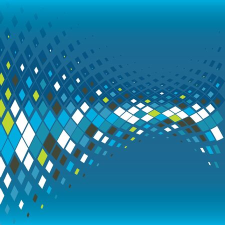 abstract business background with mosaic, vector illustration Stock Vector - 15286347
