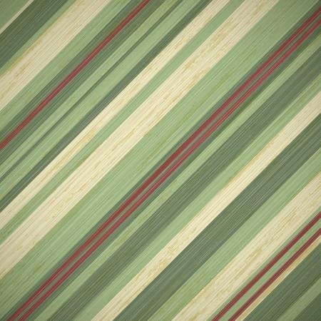 rayures vintage: le fond de cru carte de No�l avec rayures rouges et vertes, illustration vectorielle