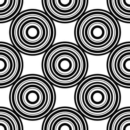 web2: seamless pattern with circles, illustration