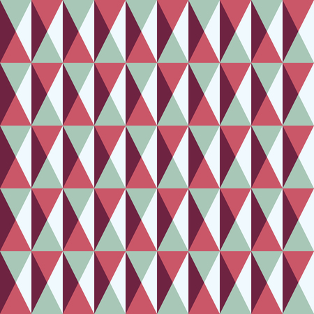 rectangle patterns: seamless pattern with squares and triangles, vector illustration Illustration