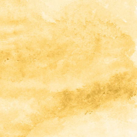 yellow gold watercolor texture background, hand painted