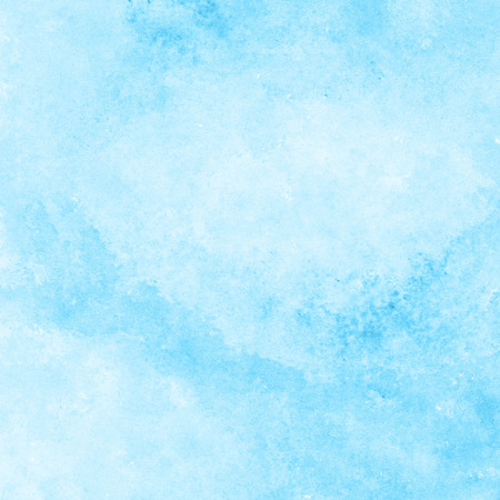 bright blue watercolor texture background, hand painted