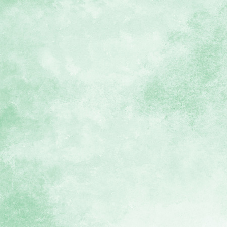 painted background: mint green watercolor texture background, hand painted Stock Photo