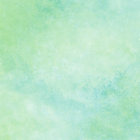 green and blue watercolor texture background, hand painted