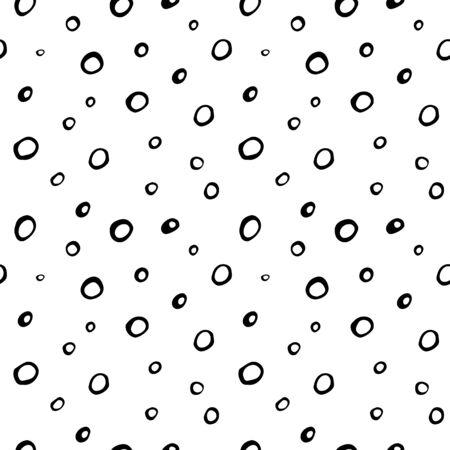 circles pattern: seamless pattern with circles, illustration