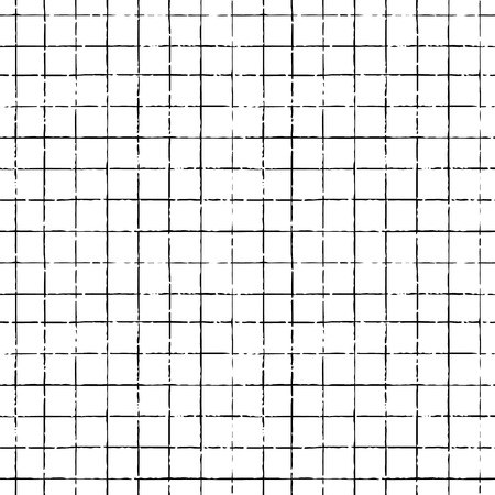 grid pattern: seamless  pattern with grid lines, striped illustration Illustration