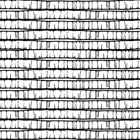 art pen: seamless  pattern with stripes, illustration