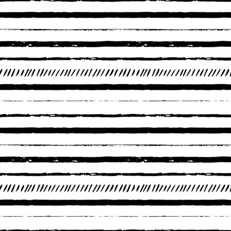 sketched shapes: seamless  pattern with lines, striped illustration