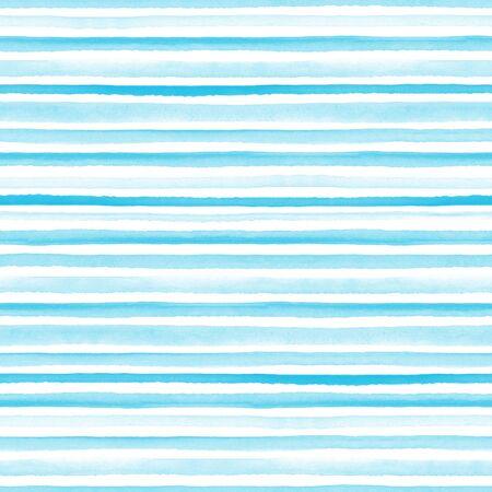 Nahtloses hellblaues Muster auf weißem Hintergrund. nahtloses Muster mit Linien und Streifen.