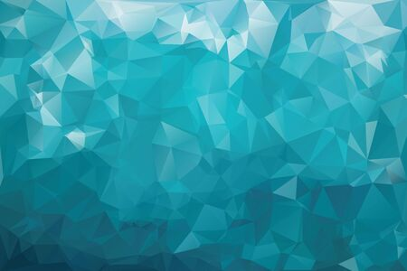 Abstract geometric background with triangles. Vector polygonal texture background. Blue abstract business background. EPS10 vector illustration.