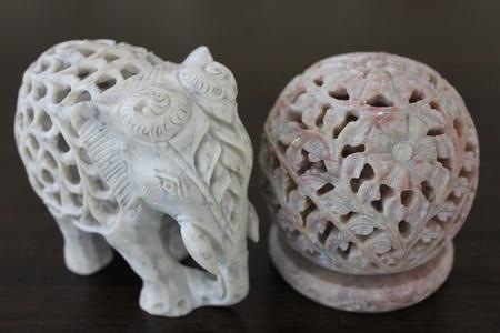 stone carving india Stock Photo - 9482817