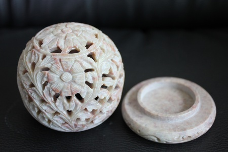 frankincense: stone carving frankincense