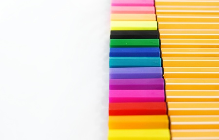 Various shades of lecture pens for taking note