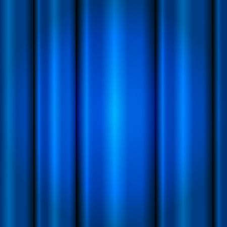 blue velvet: Close view of a blue curtain. Seamless vector illustration.