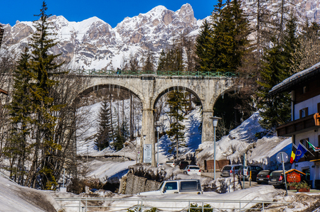Cortina de Ampezzo. Italy Editorial